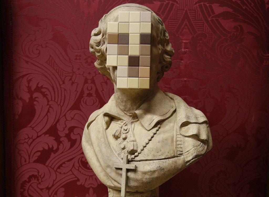 Busto oferecido por Banksy à galeria inglesa