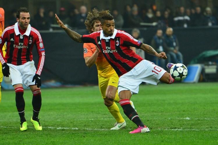 Barcelona perde em Milan