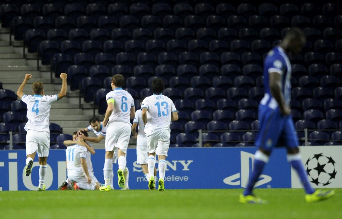 Foi a segunda derrota do FC Porto na Liga dos Campeões