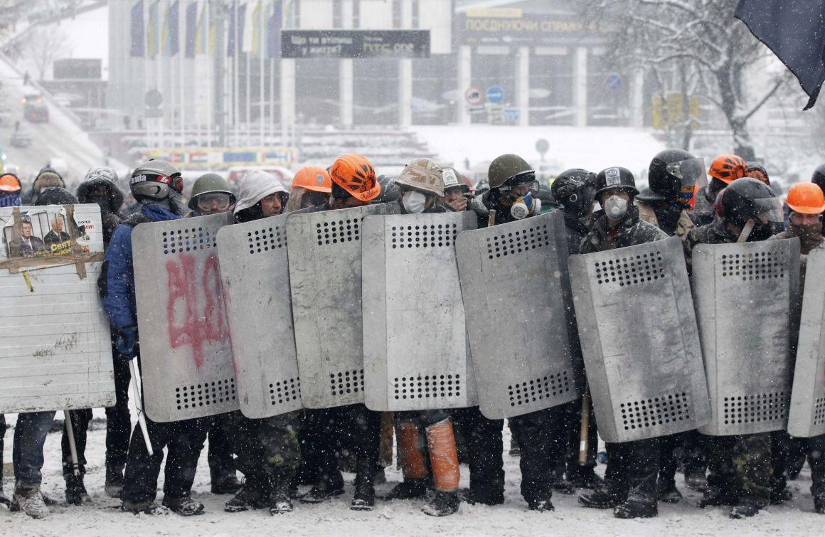 Espectaculares imágenes de los disturbios en Kiev 821726?tp=UH&db=IMAGENS