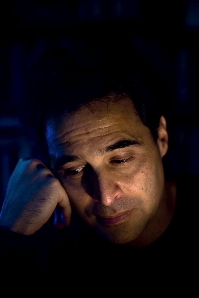 O romancista José Eduardo Agualusa
